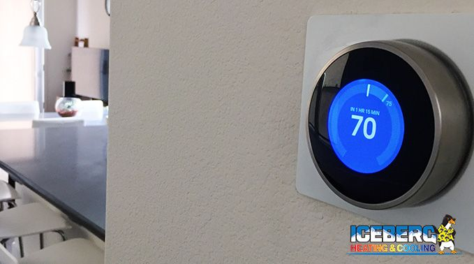 Iceberg Heating  U0026 Cooling 3 Types Of Thermostats For Your Home